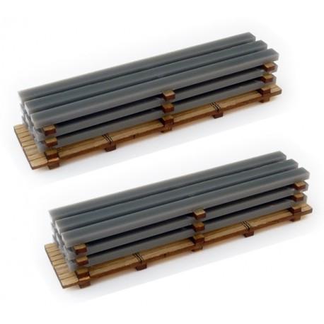 HO/OO 2 X Steel Loads (Kit)