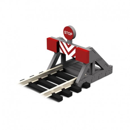 HO/OO 2 X Buffer Stop w/Assorted Decals (2 pcs)