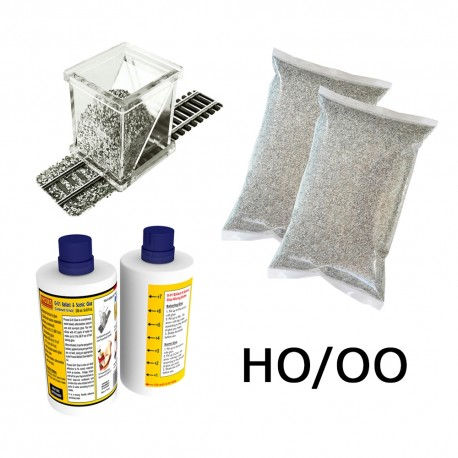 HO/OO Ballasting Kit (Light Grey)