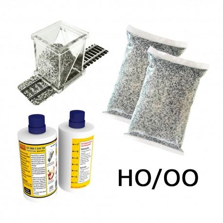 HO/OO Ballasting Kit (Grey Blend)