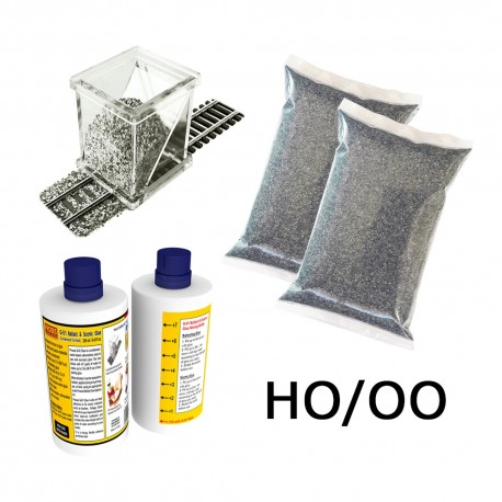 HO/OO Ballasting Kit (Dark Grey)