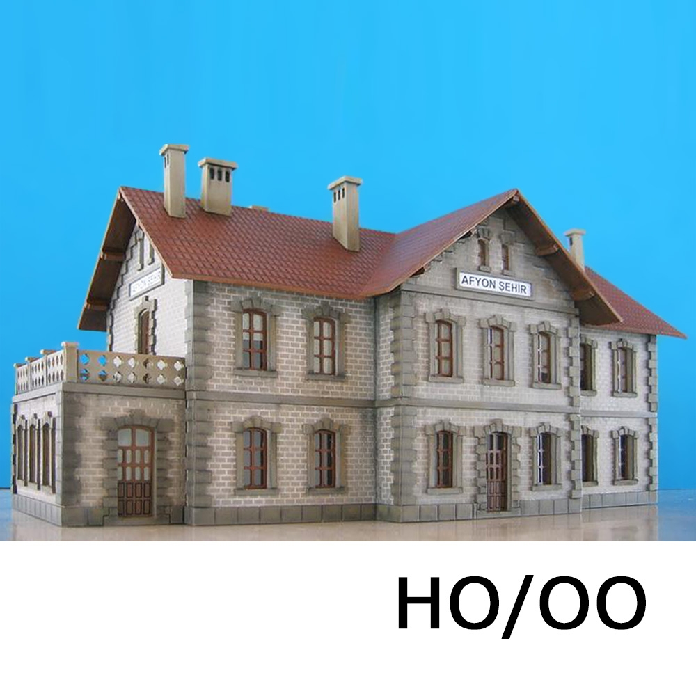 HO/OO Laser-Cut Replica of Afyon Station - Proses Hobby Shop
