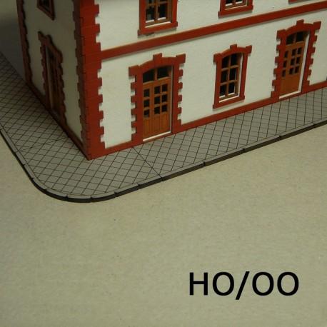 HO/OO Laser-Cut Sidewalks (Diamond)
