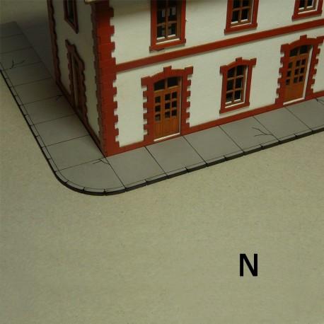 N Laser-Cut Sidewalks (Concrete)