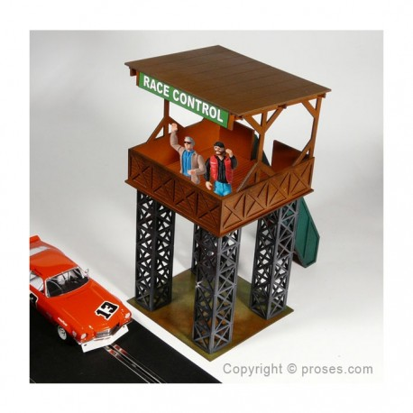 Race Tower for Race Control, Press and Marshalls