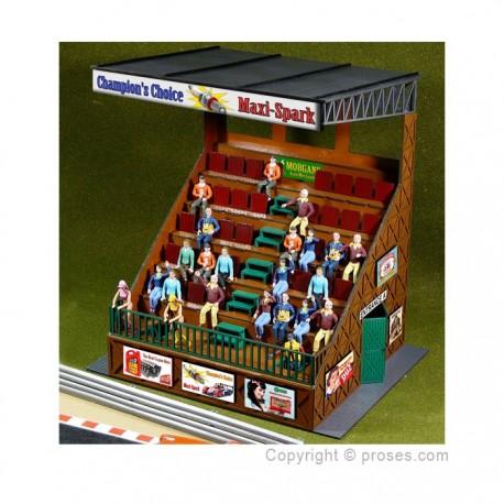 Retro Type Grandstand