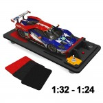 1:24 / 1:32 Scale Slot Car Tyre Truer and Cleaner w/Adapter