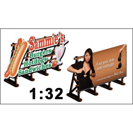 Billboards No: 2 Magic Bra + Sammies