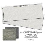 3D Embossed PVC Sheets (Random Cobblestone)