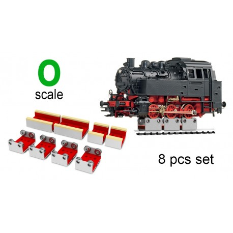 Rollers and Drive Wheel Cleaners (4 rollers)