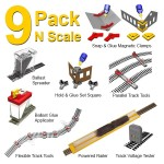Pack Of 9 Smart Tools For N Scale