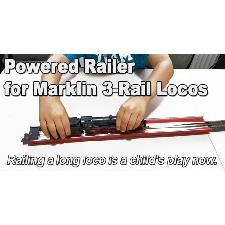 Powered Railer For 3-Rail Marklin Tracks