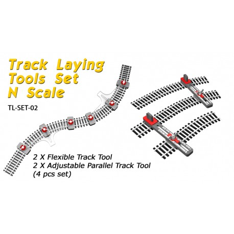 N Scale Track Laying Set