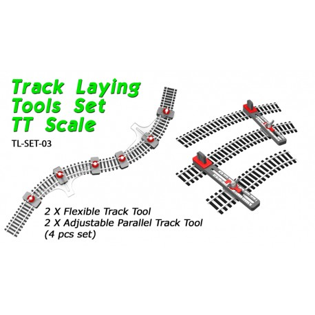 Track Laying Tools Set TT Scale