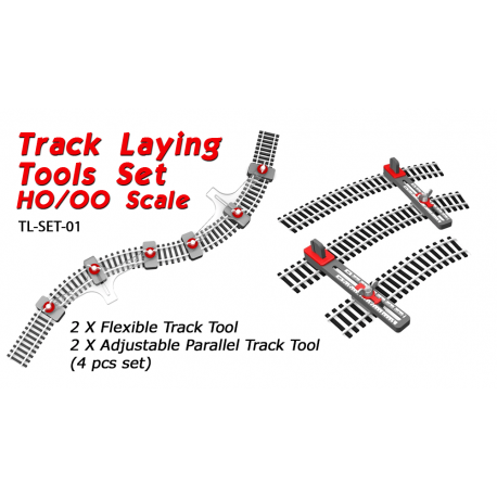 Track Laying Tools Set HO/OO