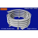 HO/OO Scale Custom Helices 2.5 to 4.5 Levels, Single/Double Track