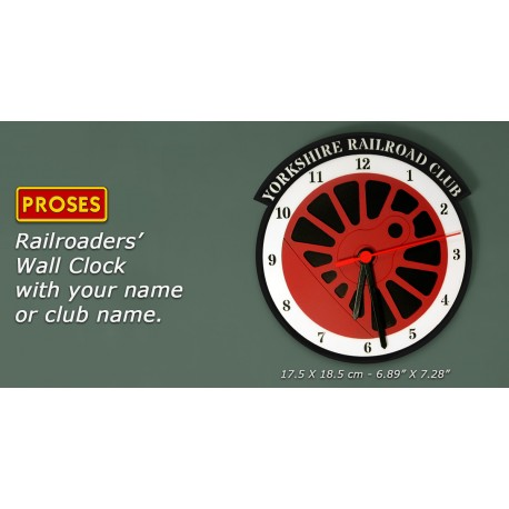 Railroaders' Wall Clock