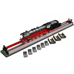 HO (3-Rail, Marklin) Rolling Road w/Drive Wheel Cleaning
