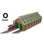 (Pre-Order) O Scale Laser-Cut Double Engine House (Release in Feb. 2019)