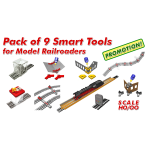 Pack Of 9 Smart Tools For HO/OO