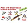 HO/OO Pack Of 9 Smart Tools