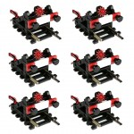 HO/OO Buffer Stop with Flashing Light (6 pack)