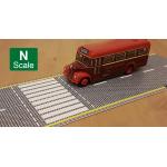 N Scale 3D Embossed Printed Roads (cobblestone)