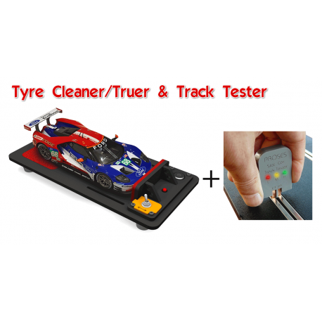Slot Car Tyre Truer/Cleaner & Track Tester