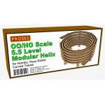 5.5 Level Double Helix For Hornby, Peco R3/4 Curve Tracks