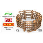 NEW! 4.5 LEVEL SMART ECO HELIX for Hornby, Peco R3/R4 Curves.