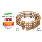 NEW! 3.5 LEVEL SMART ECO HELIX for Hornby, Peco R3/R4 Curves.
