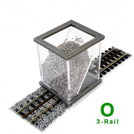 O Scale Ballast Spreader 3-Rail
