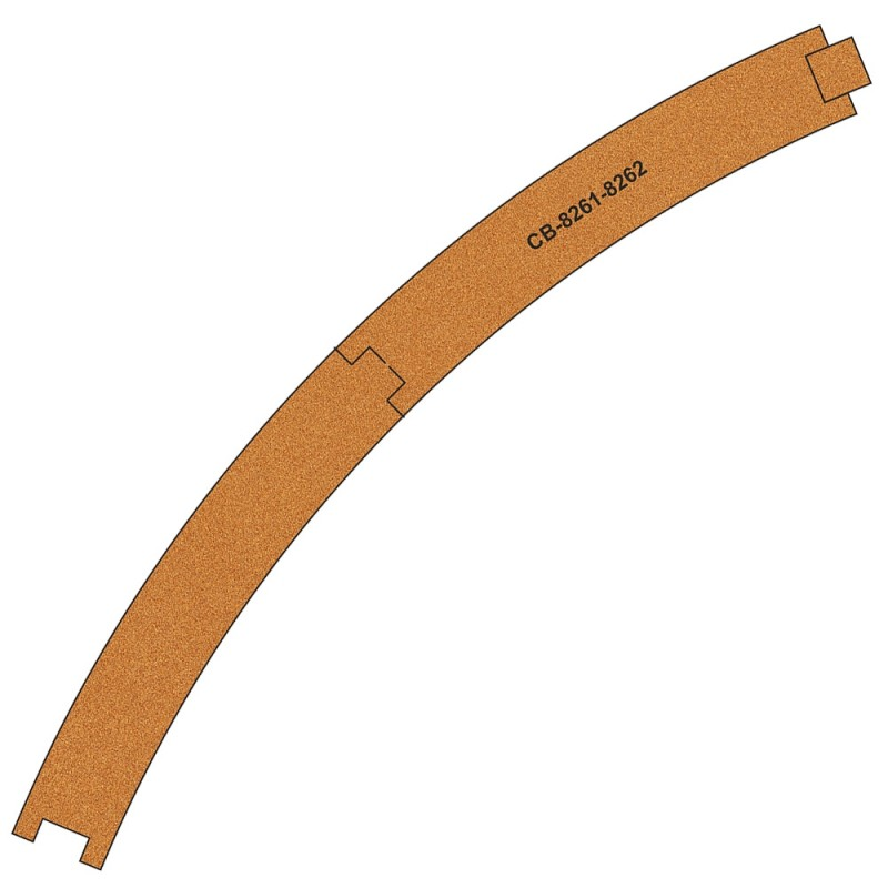 Cork Cutter: CB-8261-2 Pre-Cut Cork Bed (10 Pcs)