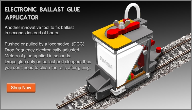 Ballast Glue Applicator