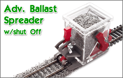 Ballast Spreader w/Shut Off